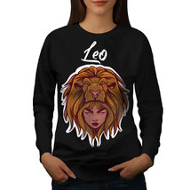 Girl Face Lion Fantasy Jumper  Women Sweatshirt - $18.99
