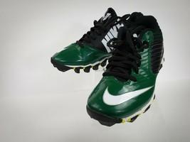 Nike Fastflex BOYS rubber cleats 653161-013 Green sz 2.5y - $24.99