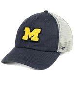 Michigan Wolverines NCAA '47 Brand S/M Tally Closer Flexfit Fitted Cap Hat - $26.59