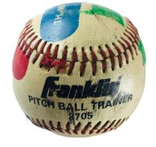 Vintage Franklin Pitch Ball Trainer Baseball 2705 - $8.08