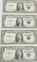 1957, A, and B  $1 SILVER CERTIFICATE with a 1957 A Star Note  UNC CRISP... - $59.75