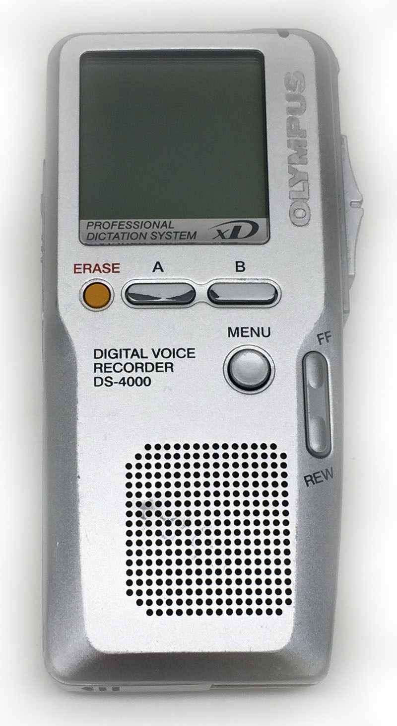 Olympus DS-4000 Digital Voice Recorder. DISCOUNTED!