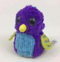 Hatchimals Draggle Purple Dragon Motorized Interactive Plush Toy Spin Ma... - $22.23