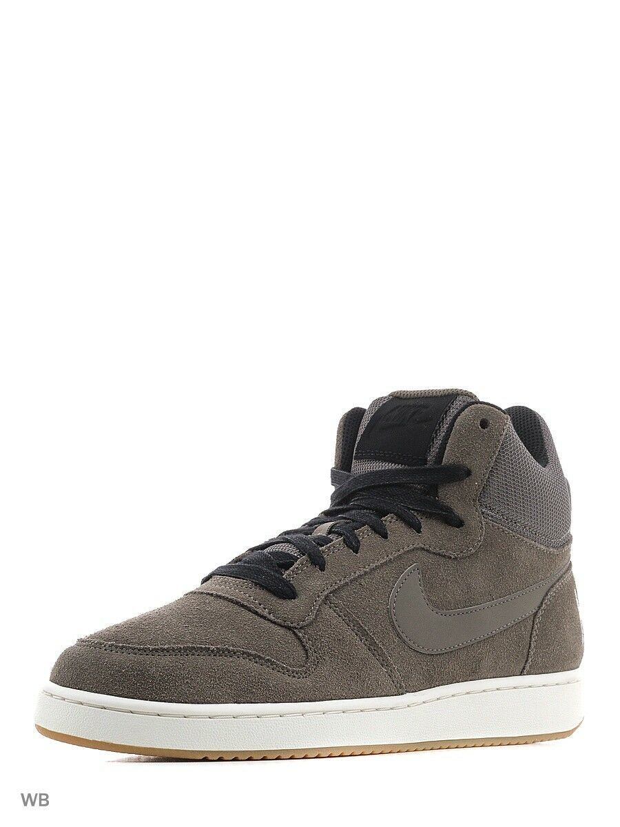 Primary image for NIKE COURT BOROUGH MID PREMIUM MEN SHOES MUSHROOM 844884-201 SIZE 11 NEW