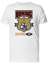 Boxing Champion Academy Men's Tee -Image by Shutterstock - $10.88+