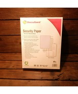 "Docugard 04543 Security Paper Premier Medical Blue 500 Sheets 8 1/2"" x 11"" - $12.00"