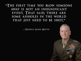 General James Mattis Poster USMC Poster 24x36 - $29.69