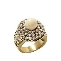 Heidi Daus Jewelry Posh and Proper Pav'e Crystal Round Ring - $41.58