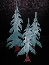 3 Metal Christmas tin Trees - $7.99
