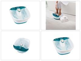 Foot Spa Bath Massager Bubble Massage Heat Soaker Pedicure Portable Soak... - $37.43