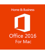 Microsoft Office 2016 for Mac Key with Download - $24.90