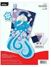 Bucilla 'Snow Princess' Felt Stocking Stitchery Kit, 86937E - $31.99