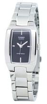 Casio Enticer Analog Black Dial Ltp-1165a-1cdf Ltp-1165a-1c Women's Watch - $39.00