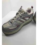 Skechers Shape Ups Womens Walking Shoes Gray Lace-Up SN 11814 Low Top Sn... - $25.34