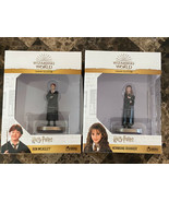 Hermione Granger & Ron Weasley Wizarding World Eaglemoss Figurine Statue... - $29.69