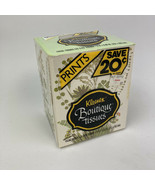 VTG NOS 1981 Kleenex Facial Tissues TV Movie Prop Floral Box Decorator Printed   - $12.86