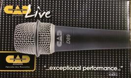 CAD Audio - D89 - Premium Supercardioid Dynanic Instrument Microphone - $84.10