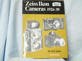 Zeiss Ikon Cameras 1926-39 Hard Back Quality Book  - Nice-  - $20.00