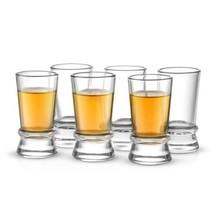 JoyJolt Afina Collection 6-Pack Heavy Base Shot Glass Set, 1.5-Ounce Gla... - $18.93