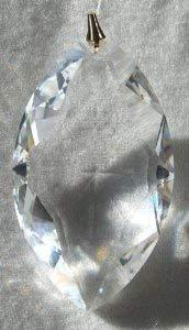 Swarovski 50mm Clear Crystal Marquis Prism