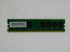 2GB Shuttle Xpc Glamour SG31G2 SN68PTG5 6400 Mémoire RAM Testé