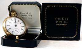 Waltham Gold Filled 15 Jewel Pocket Watch Working Warranted B&B Royal 20... - $212.00