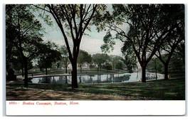 Early 1900s Boston Common, Boston, MA Postcard - $9.28