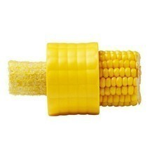 Corn Stripper Slicer Peeler And Cob Cutter Remover Thresher Kitchen Acce... - $6.99
