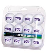 TCU Horned Frogs Dozen 12 Pack Golf Balls - $32.30