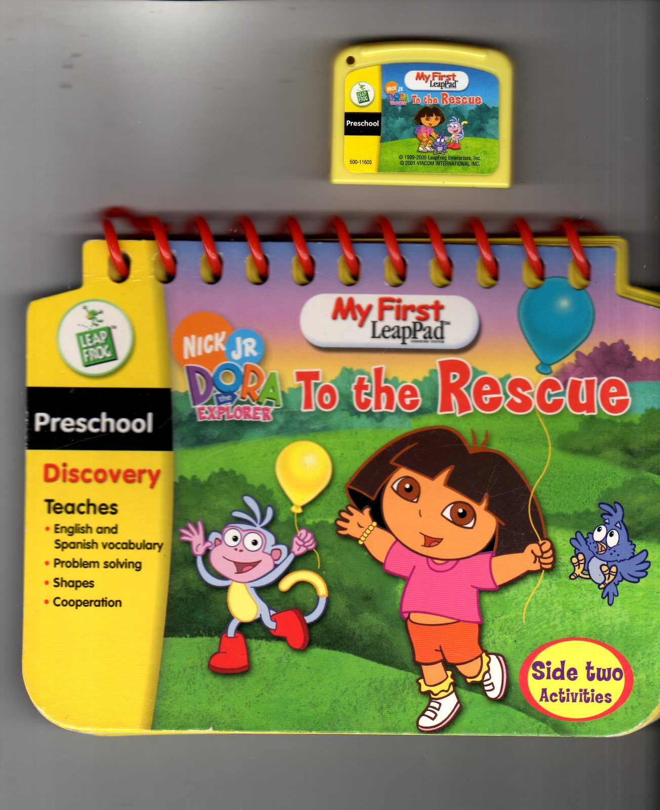 Leap Frog - My First LeapPad - Dora The Explorer To the Rescue