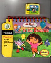 Leap Frog - My First LeapPad - Dora The Explorer To the Rescue - $4.50