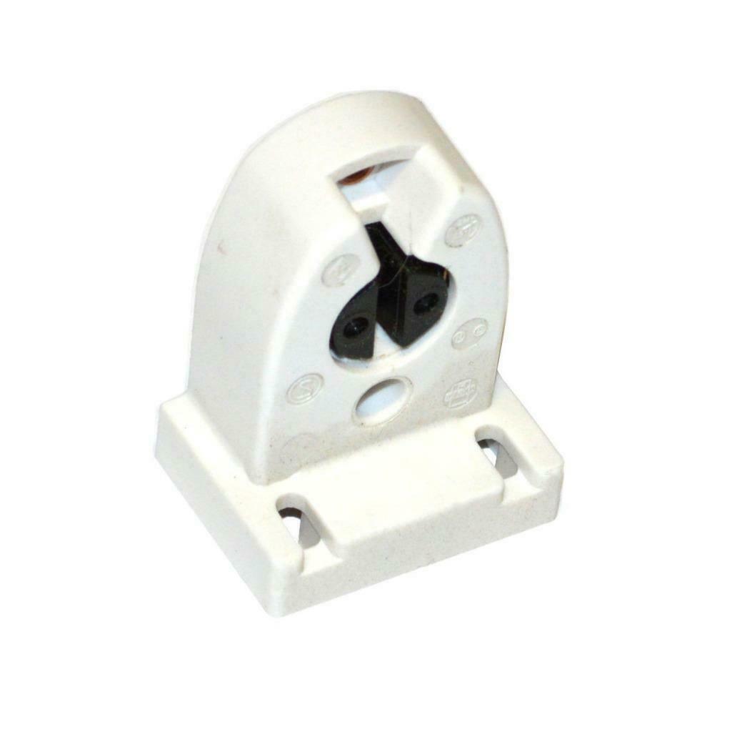 Med Bi-Pin White Leviton 23652-NP Fluorescent Lampholder With Internal Shunt