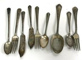 Vtg Lot Wm. A. Rogers Flatware A1 Pat June 14 20 Pat Sept 1912 spoon kni... - $14.84