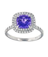 Tiffany & Co. Soleste Tanzanite Ring in Platinum  - $4,900.00