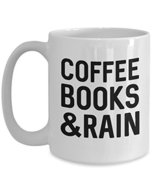 Coffee Books & Rain - $20.53