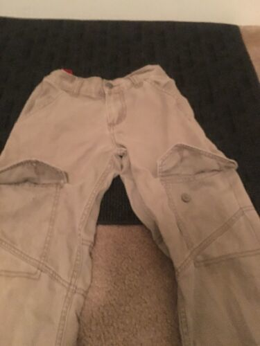 Wrangler Jeans Boys Casual Pants Brown Sz 8 Regular image 3