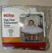 NUBY Triangle High Chair REPLACEMENT Cover 120131 Cushioned - $23.36