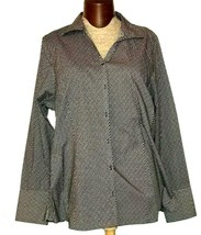 Lands End Women's Long Sleeve Button Down Shirt Plus Size 24 - $19.99