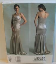 Vogue Sewing Pattern 2905 Badgley Mischka Formal Dress Size 10 12 14 - $19.34