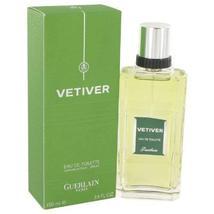 Vetiver Guerlain By Guerlain For Men Eau De Toilette Spray 3.4 oz - $47.75