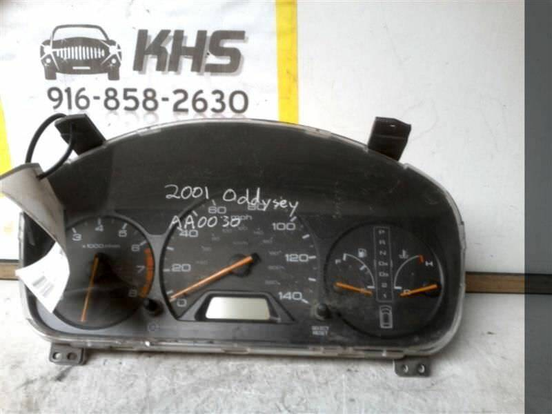 Primary image for Speedometer Cluster US Market MPH Van Fits 01 ODYSSEY 316817