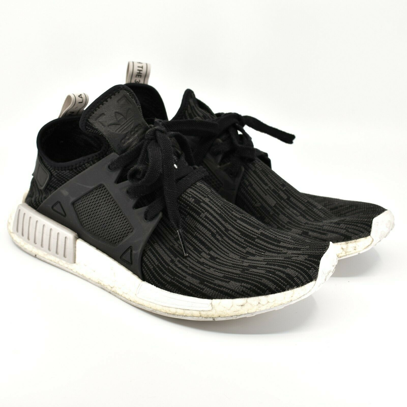 adidas Women's adidas NMD XR1 PK Primeknit Utility Black Gltich Shoes Size 10