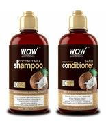 WOW Coconut Milk Shampoo and Conditioner Set, Slow Down Hair Loss, Essen... - $39.95