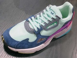 outlet store 9a6a5 e45cc Adidas Originals Falcon W Clear MintCollegiate Navy BB9175 - 158.00