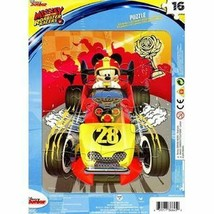 Disney Junior - Mickey and the Roadster - 16 Pieces Jigsaw Puzzle - v2 - $9.89