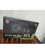 MSI NVIDIA GeForce RTX 3070 Ti VENTUS 3X OC 8GB GDDR6X Graphics Card Bra... - $1,249.98