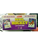 1991 Score NHL Hockey Collector Set Factory Sealed Complete 440 Cards - $24.99