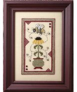 Black Eyed Susan chart w/emb cross stitch chart The Bee Cottage  - $10.80