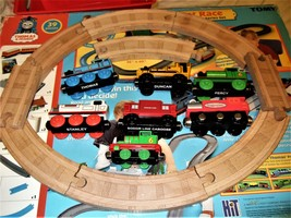 Thomas and Friends -Thomas, Percy,Stanley, Duncan,Sodor Line -5 trains &... - $9.75