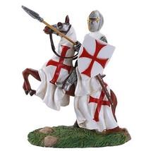 Crusader Knight Holding Spear Calvary On Horseback Defending Crusader Kingdoms F - $45.30